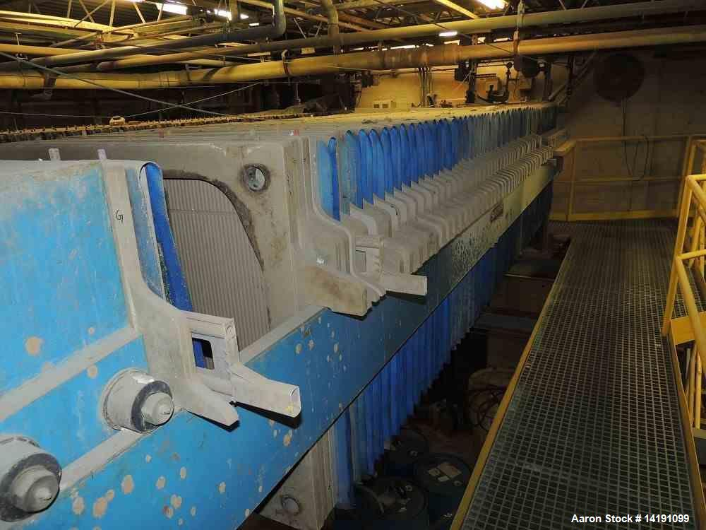 Used- Sperry Size 42 Filter Press, 1666 Square Feet