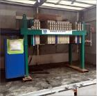 Used- Durco Filter Press, Model EP630/32-16 100#.