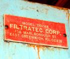 Used: Filtratec filter press, 47