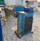 Used- Pacific Press Co. Filter Press, Model P630E132A-10R