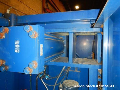 Used- US Filter 3112 Square Feet Polypropylene Plate Filter Press