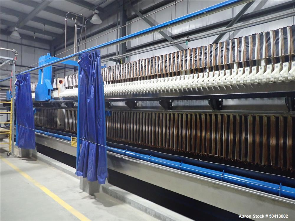 Used- Zhejiang Huazhang Technology 500 Square Meter (Approximately 5380 Sqft.)