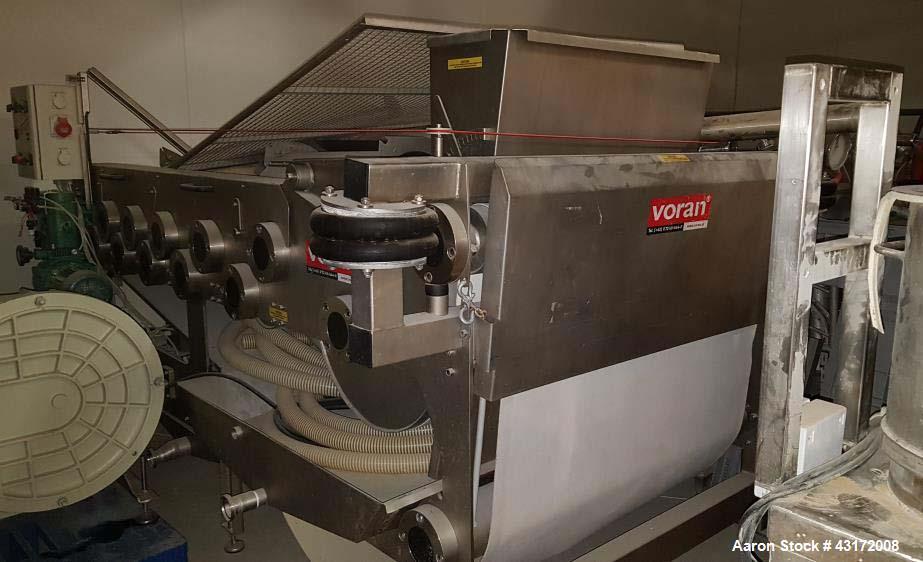 Used- Voran Belt Press Filter