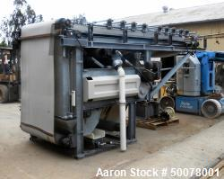 Used- Bellmer WinkelPresse Dewatering Belt Press, Model # 4, Size 1.0 Meter.