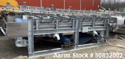 Used- Ashbrook Corporation Gravity Belt Thickener, Model Aquabelt.  Approximatel