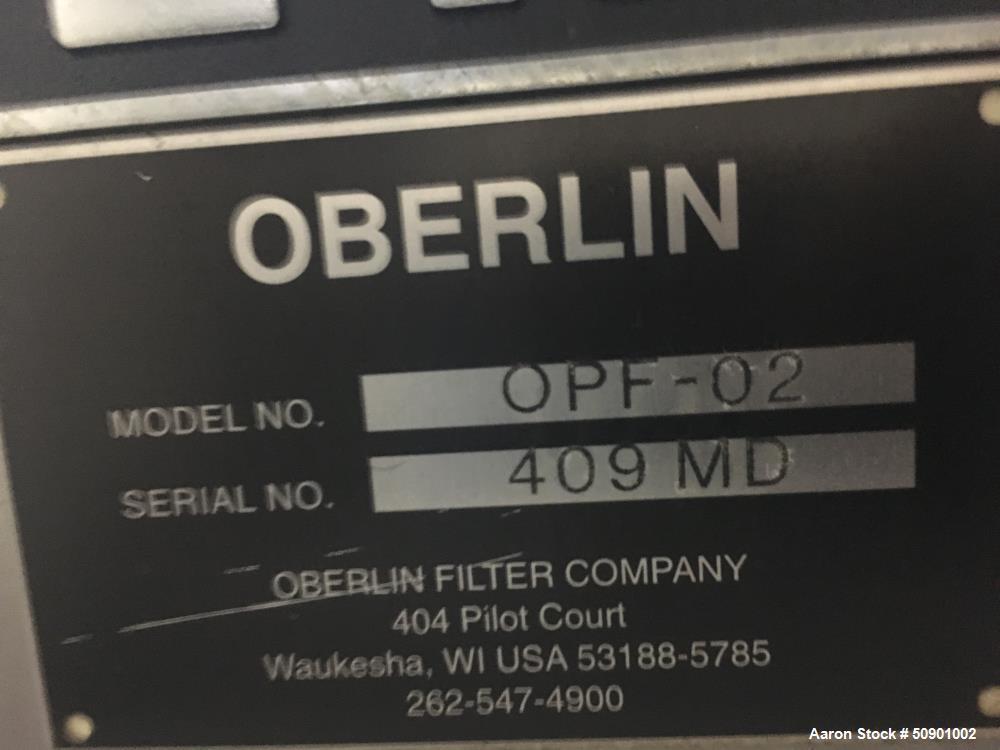 Used- Oberlin FIlter, Model OPF-02