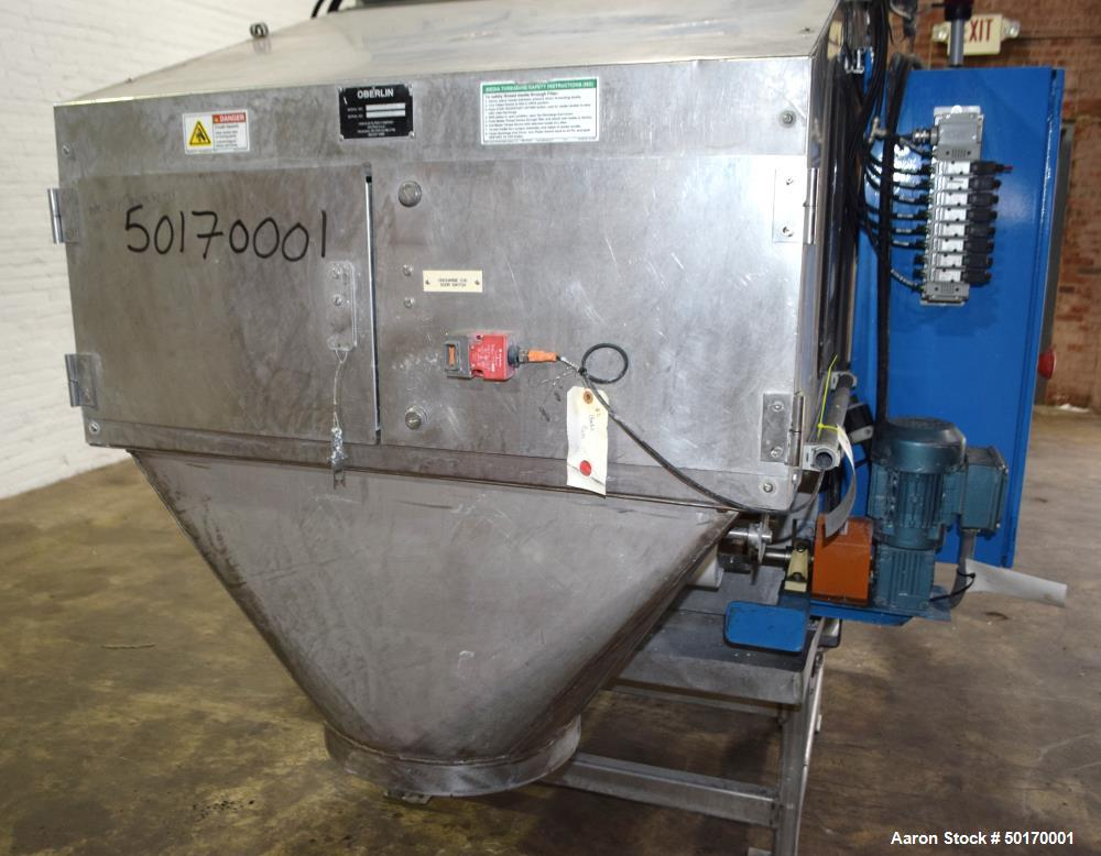 Used- Oberlin Model OPF04 Pressure Filter Coolant System.