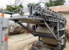 Used- Ashbrook Bellmer WinkelPresse Dewatering Belt Press, Model # 4, Size 1.0 M