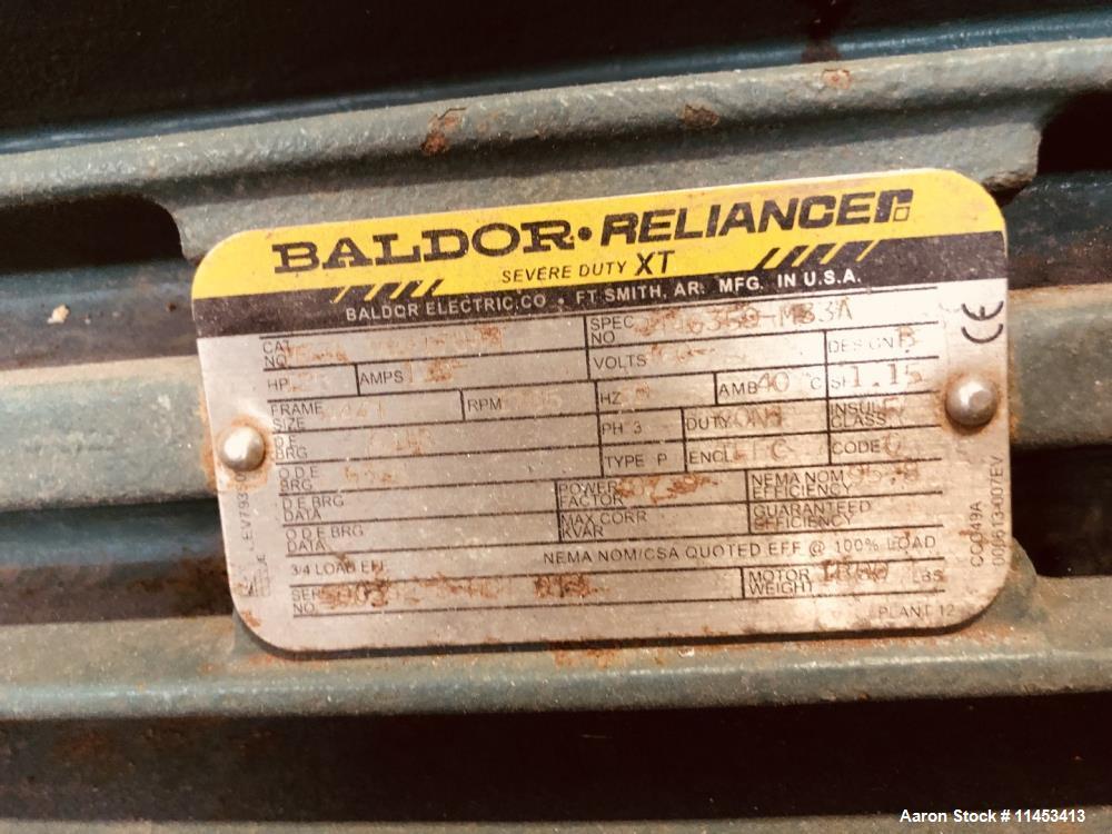 Used-11.25 Square Meter Komline Sanderson Horizontal Vacuum Belt Filter