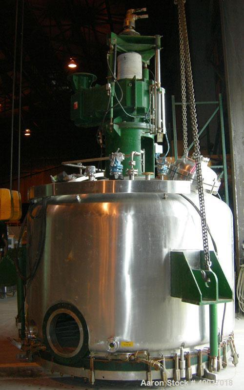 Used- 3V Cogeim Filter Dryer, Model FILTRODRY FPP500 D/FM, Hastelloy C22 product contact areas. Approximately 5 square meter...