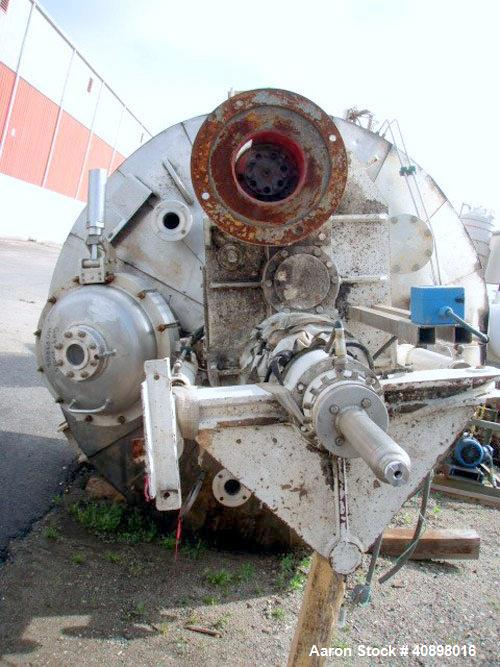 Used- Cogeim 4 Square Meter Agitated Nutsche Filter Dryer, Model FPP 400 FF/D