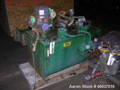 Used- 3V Cogeim Filter Dryer, Model FILTRODRY FPP500 XD/FM, Hastelloy C22 product contact areas. Approximately 5 square mete...