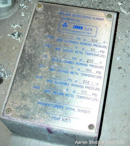 Used- Comer Filter Dryer