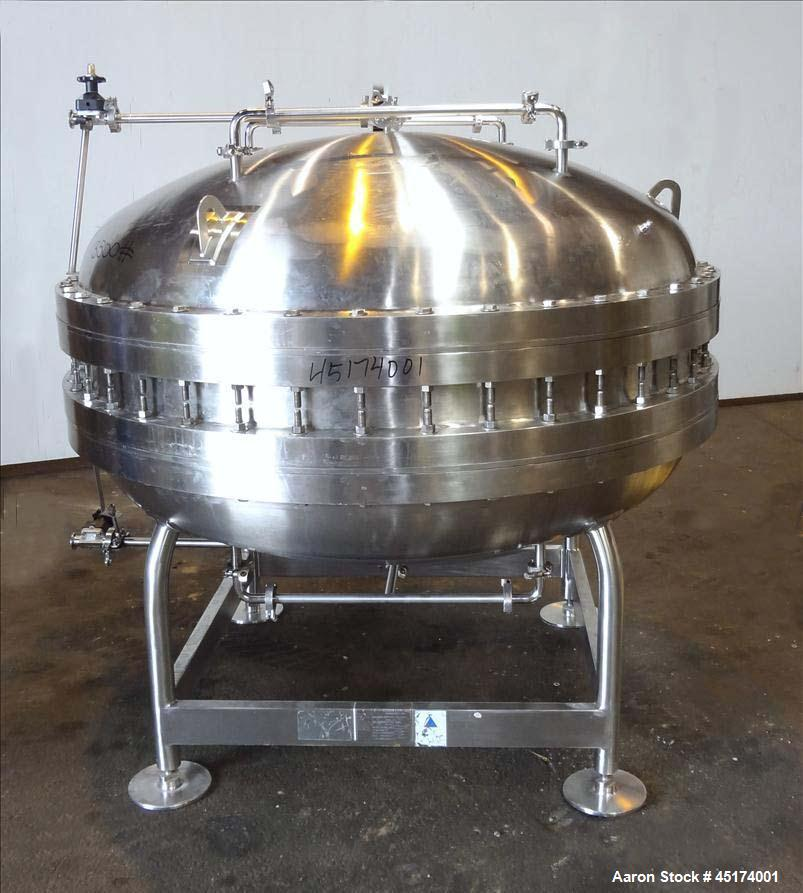 Used- Precision Stainless Gel Filter Housing