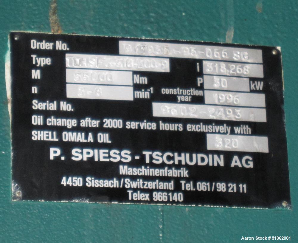 Used- Rosenmund Filter / Dryer, 8.0 M2