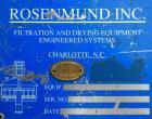 Used- Rosenmund Paddle Discharge Filter Dryer
