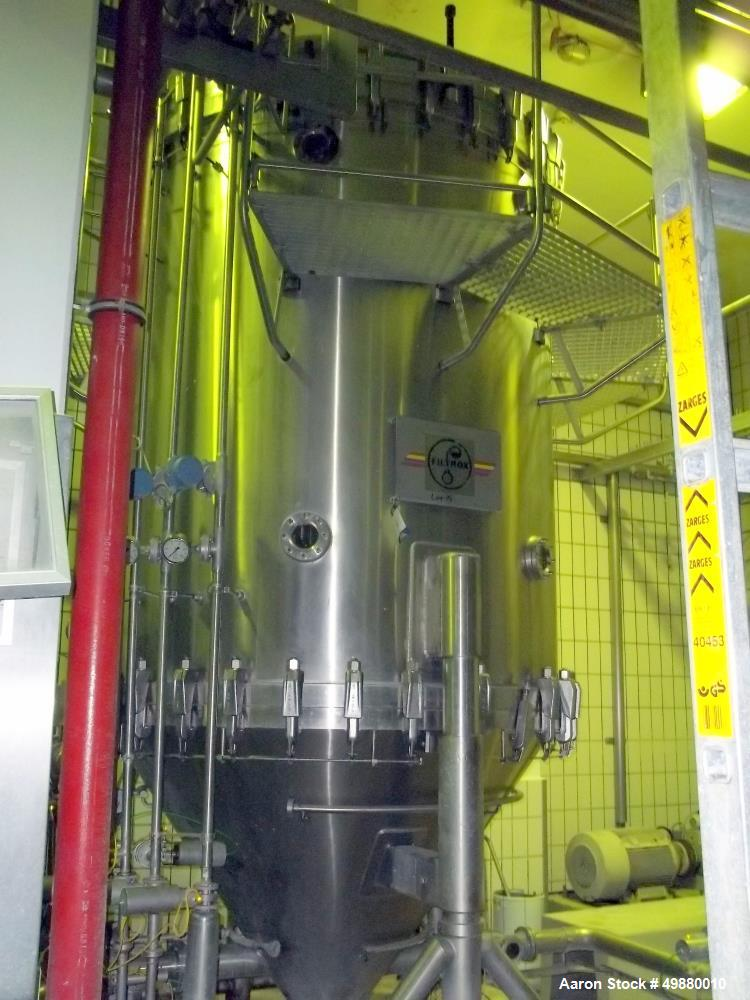 "Used-Filtrox Werke AG Kieselgur"" filtration system, type F.Mr. St 2000. 316 stainless steel on product type ontact parts. 11..."