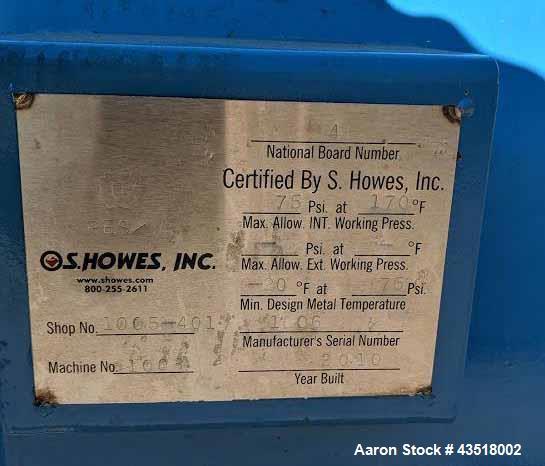 Used- S. Howes Pressure Leaf Filter