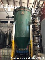 Used- AmaFilter Group 750 Gallon Vertical Pressure Leaf Filter