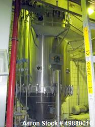 "Used-Filtrox Werke AG ""Kieselgur"" filtration system, type F.Mr. St 2000. 316 stainless steel on product type ontact parts. 1..."
