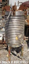 Used- Stainless Steel Niagara Pressure Leaf Filter, Model 18-16-D