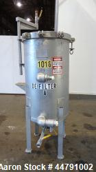 Used- Stainless Steel American Plant Equipment Pronto Vertical Plate Filter