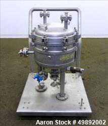 Used- Sparkler Filters Inc. Plate Filter, Model 14-S-4