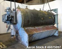 Used- U.S. Filter Auto-Jet Self-Cleaning Pressure Leaf Filter, 1600 Square Feet Filter Area, Model 1600, Stainless Steel. Ho...