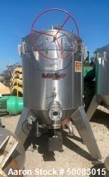 Used- Velo S.P.A. Vertical Leaf & Tank Filter, Model CFV35