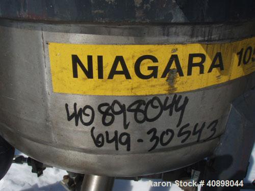 Used- Niagara Horizontal Plate Filter, Model 18-4-D