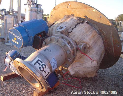 Used- Schenk Centrifugal Discharge Pressure Filter, Model ZHF-SR7-KLKB1