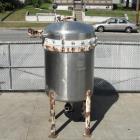 Used- Ametek Inc. Niagara Filters Stainless Steel Vertical Pressure Leaf Filter