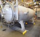 Used- LFC Lochem Roto Jet Wet Cake Discharge Filter, Approximate 990 Square Feet Filter Area, Model RJWCD 92/1200/44 DC, Dup...
