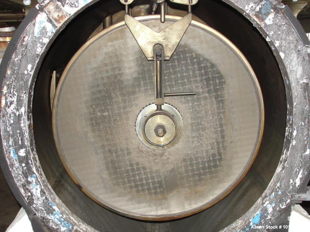 Used- U.S. Filter Company Auto Jet Self Cleaning (Rotating Leaves) Vertical Pres