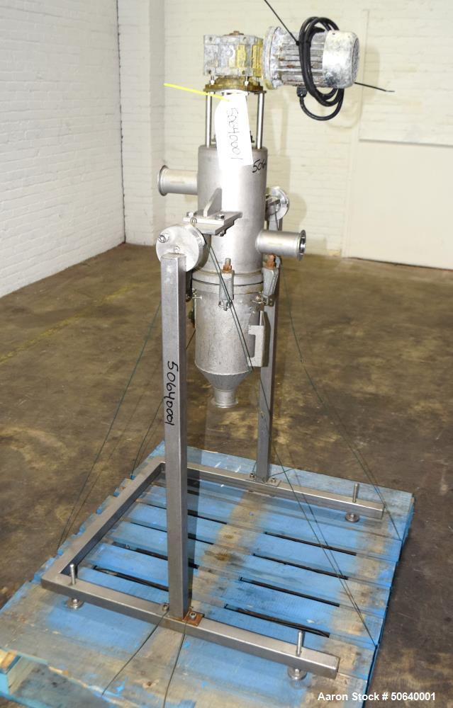 Used- FUHR Filter Technology Self Cleaning Wedge Wire Filter, Model KSF-700/TC2-SP, Stainless Steel. Flow rate 25 cubic mete...