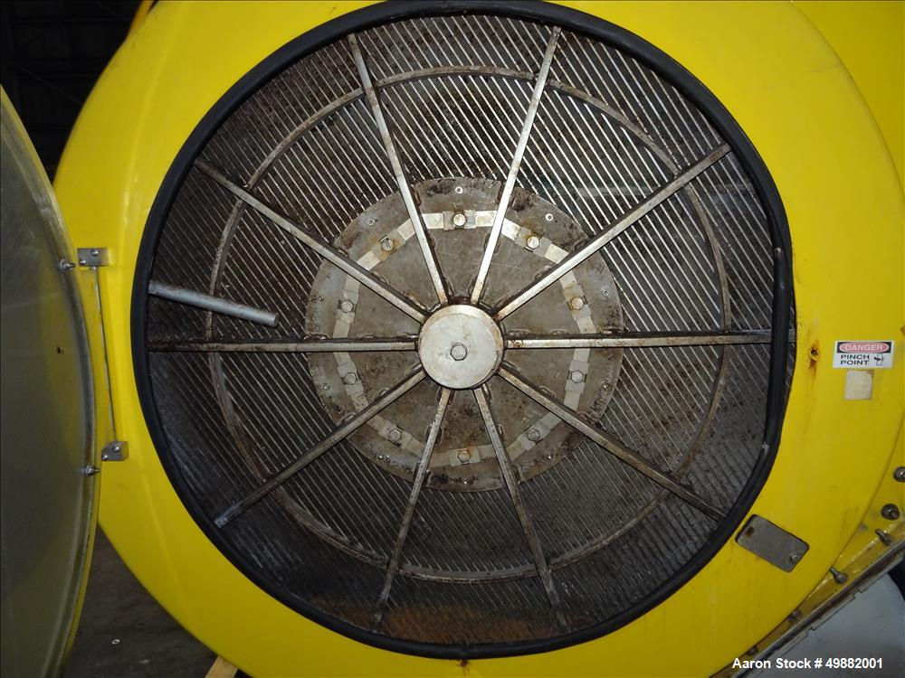 Used- Prime Solution, Model RFP48D, (2) Channel Rotary Disc / Fan Filter
