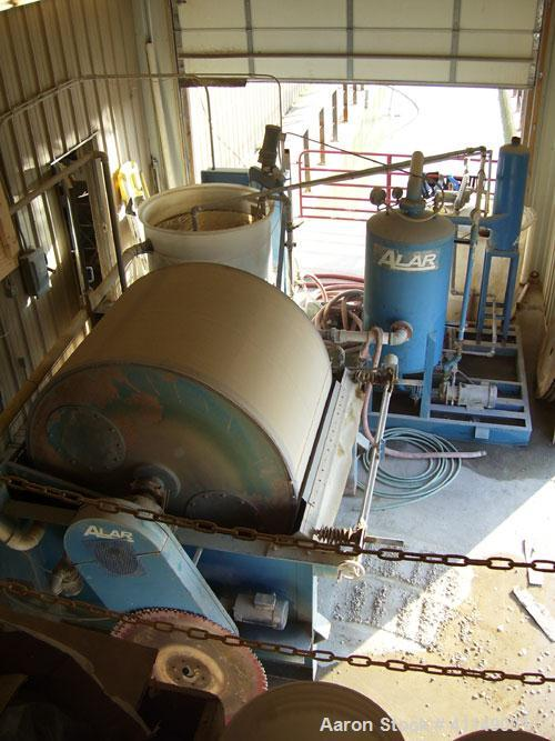 Used Alar Water Reclamation System Model 640 6