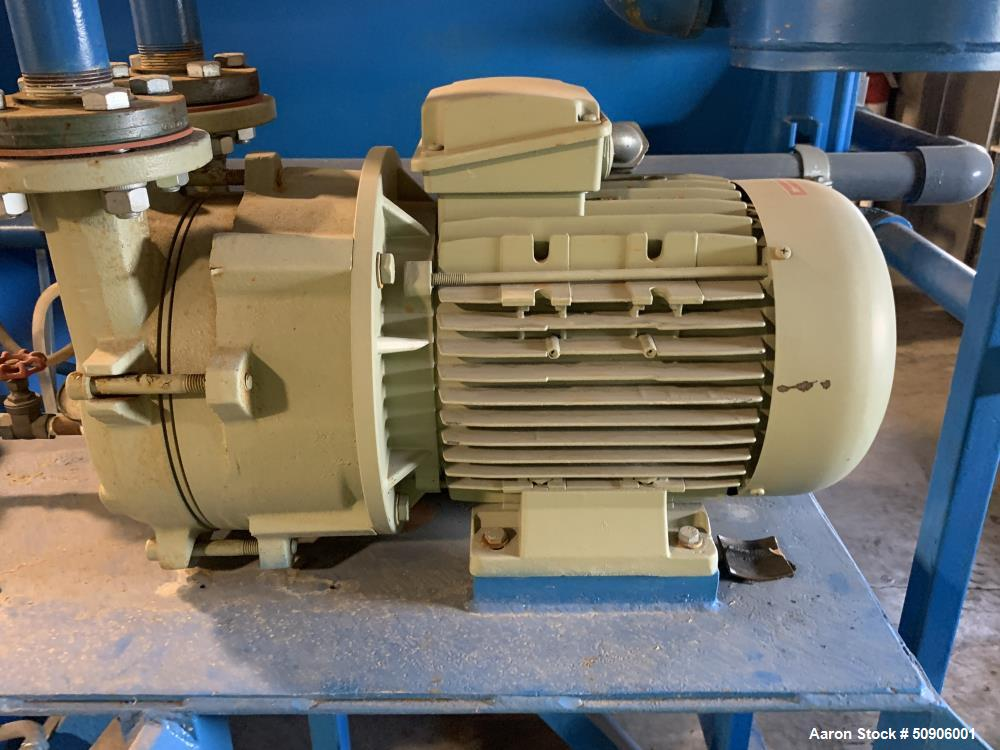Used- Alar Rotary Vacuum Filter, Model 330