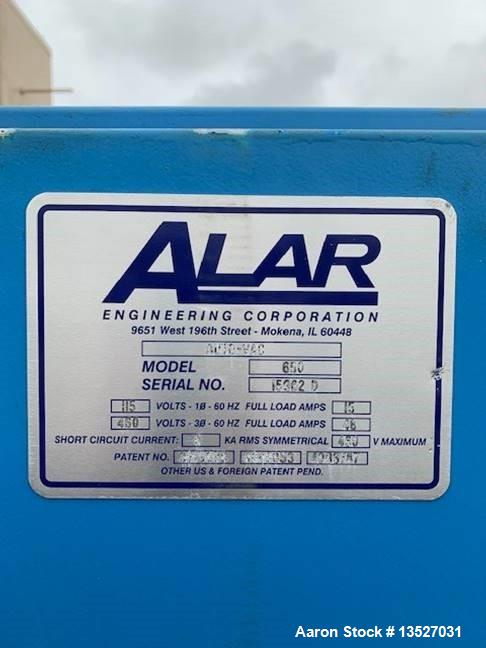 Used- Alar Rotary Vacuum Precoat Drum Filter