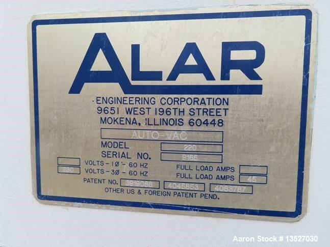 "Used- 2' x 2' Alar ""Auto-Vac"" Rotary Vacuum Drum Filter System"