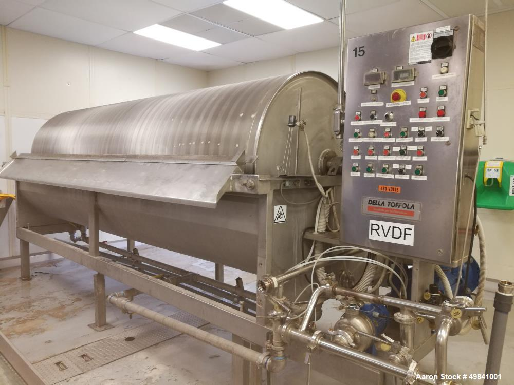 Used- Della Toffola Rotary Vacuum Filter.