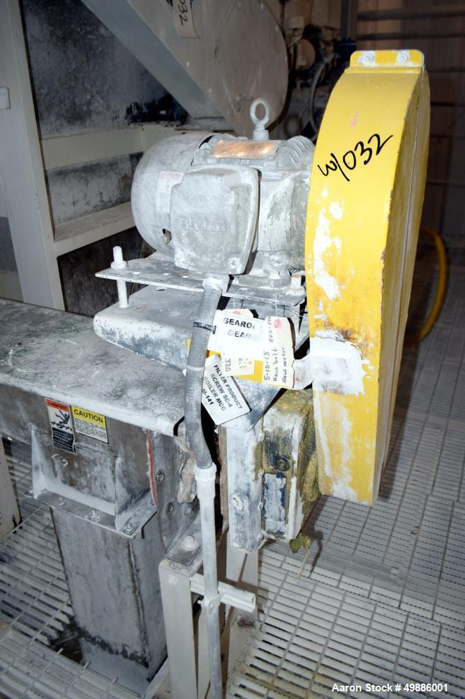 Used- Eimco Rotary Vacuum Filter, Approximate 603 Square Feet Filter Area
