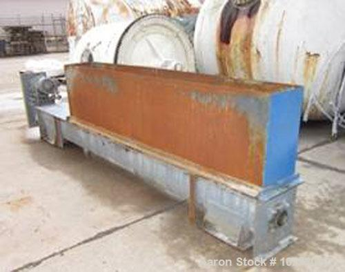 "Used-Komline Sanderson Rotary Vacuum Precoat Filter System, Model KS-1-585, Carbon Steel.Approximately 72"" diameter drum x 9..."