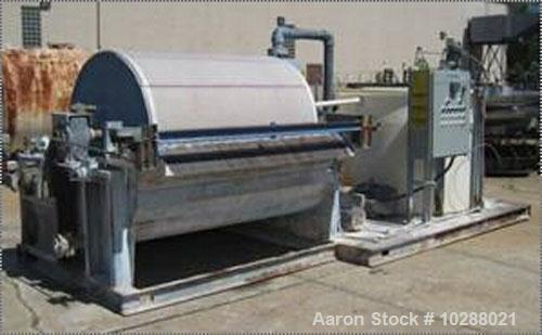 Used- Komline Sanderson Rotary Vacuum Filter