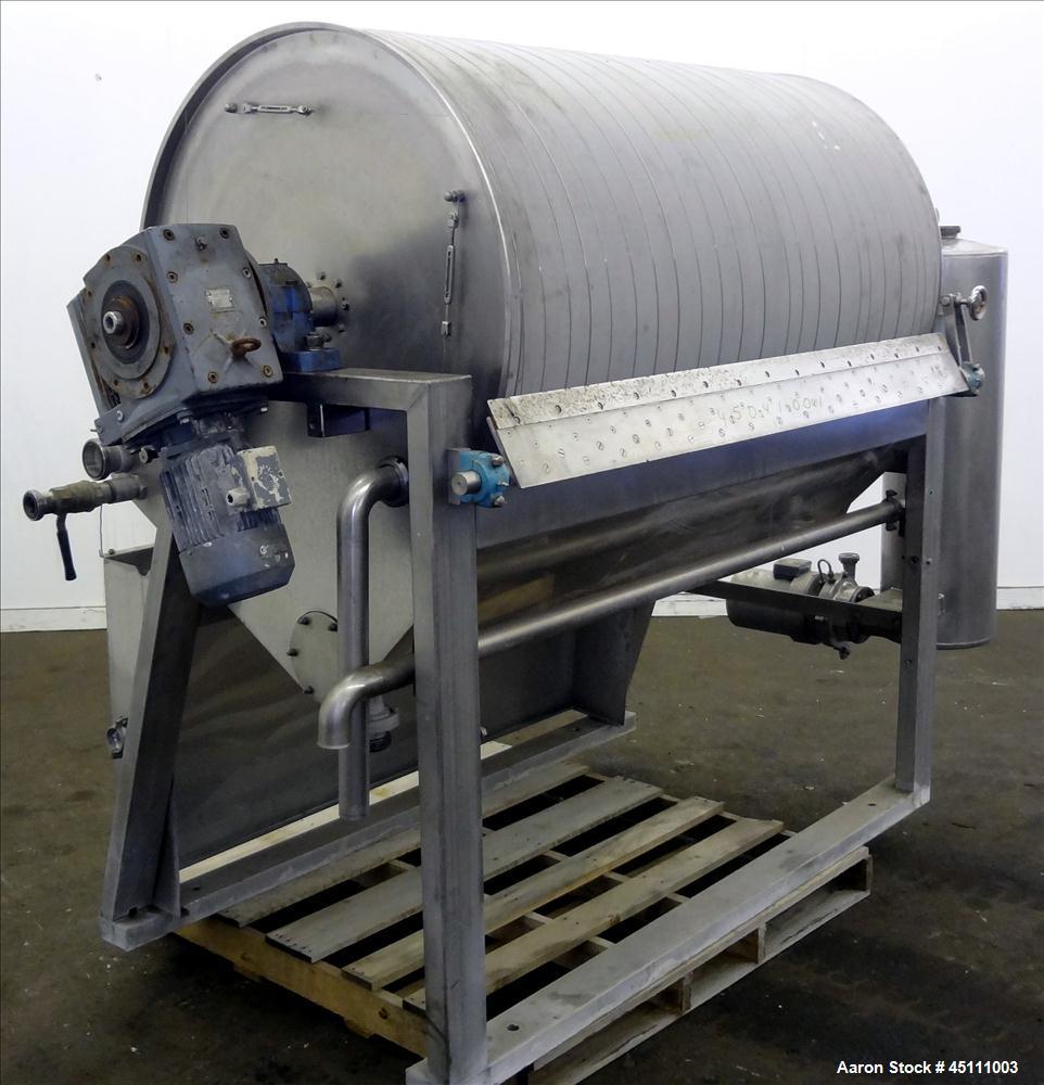 Used Larsson Rotary Drum Vacuum Filter Approxim