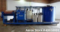 Used- Alar Flex-O-Star Automatic Chemical and Mechanical Rotary Vacuum Filter Sy