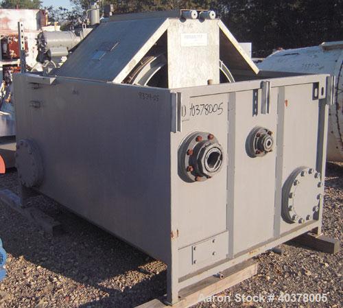 Used- Permutit/Zurn Industries Micromatic Rotary Vacuum Filter, Model 580