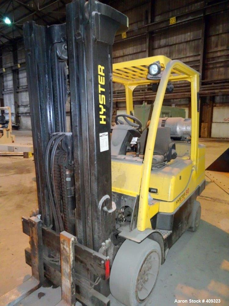 Used-HYSTER Forklift Model S80FT