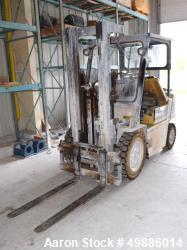 Used-Caterpillar 5000 Pound Propane Forklift, Model V50E