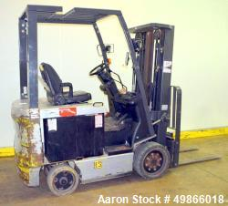 Used-Nissan Electric Forklift, Model CP1B2L25S.